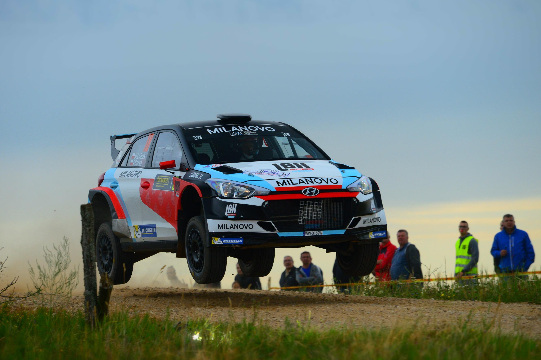 Rally Elektrenai: Lubiak i Borko na 6. miejscu