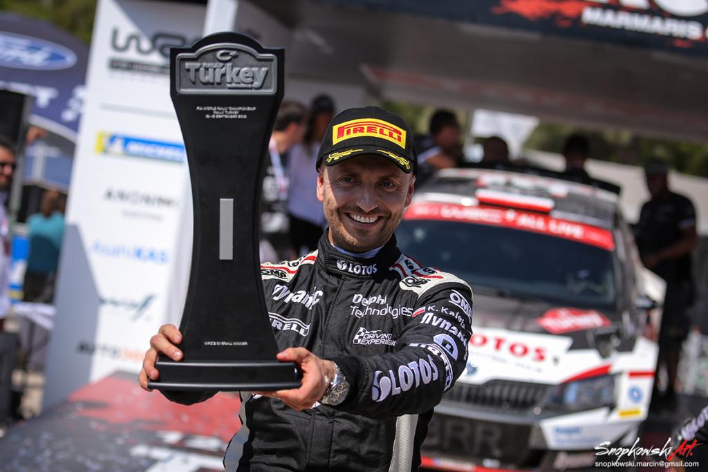 WIELKI SUKCES Kajetanowicza – wygrywa Rajd Turcji i lideruje w WRC 2 !!!