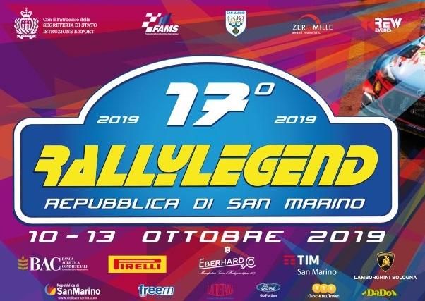 17 Rally Legend – San Marino | lokalizacje, harmonogram, mapy, lista zgłoszeń