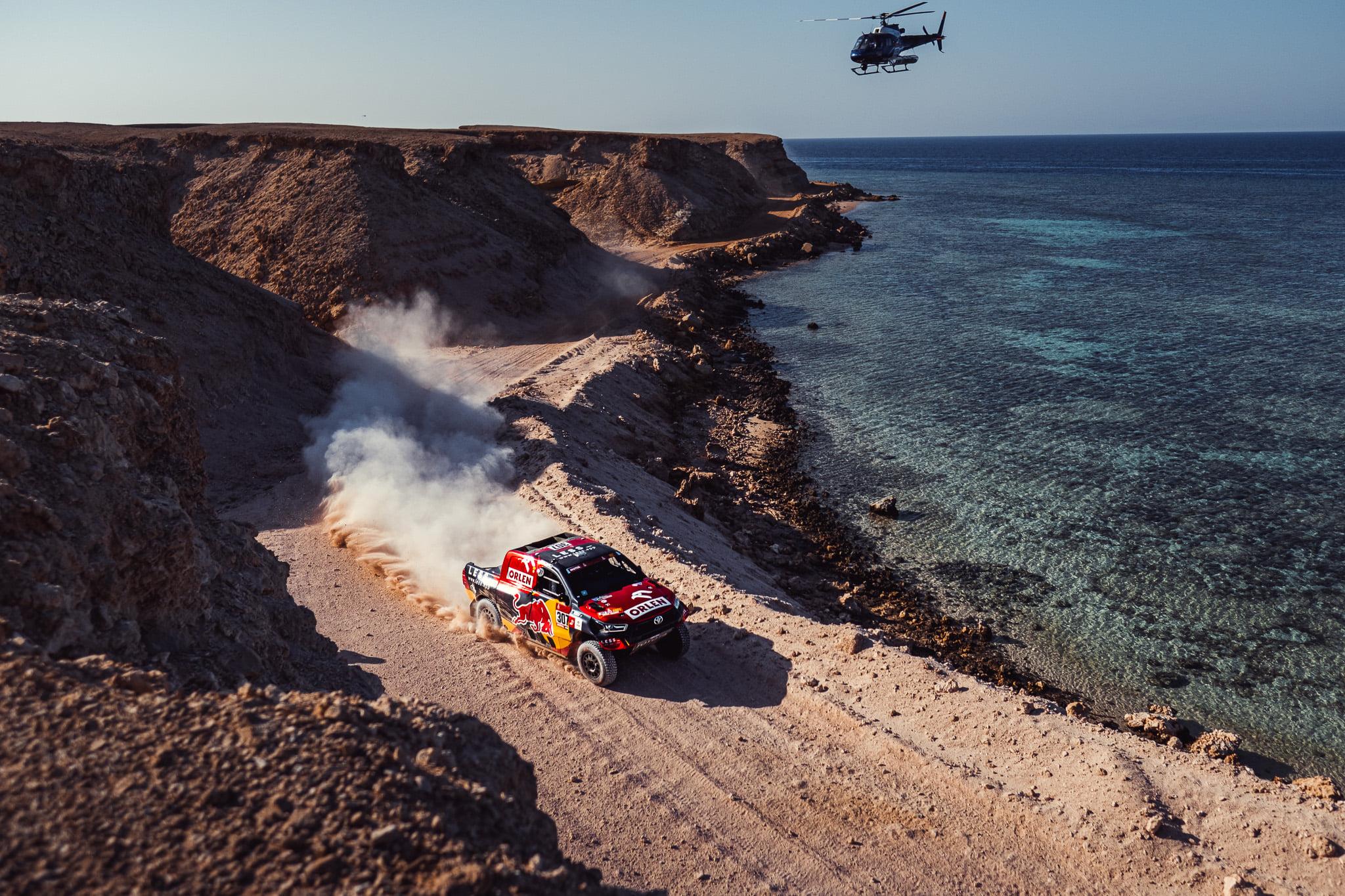 ORLEN TEAM po 10 etapie Rajdu Dakar