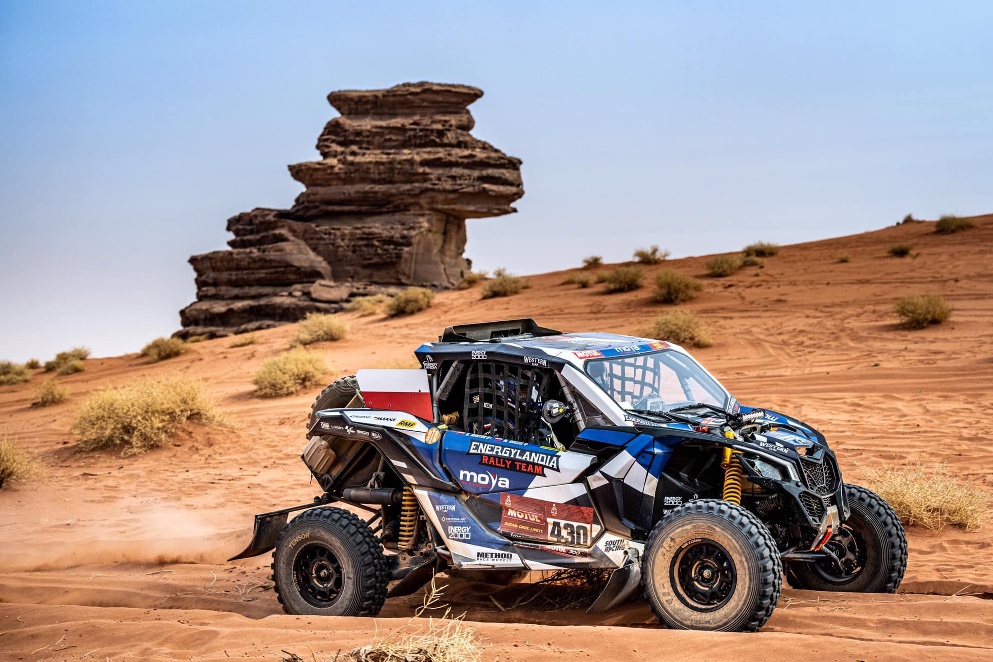 Marek Goczał po 10 etapie Rajdu Dakar