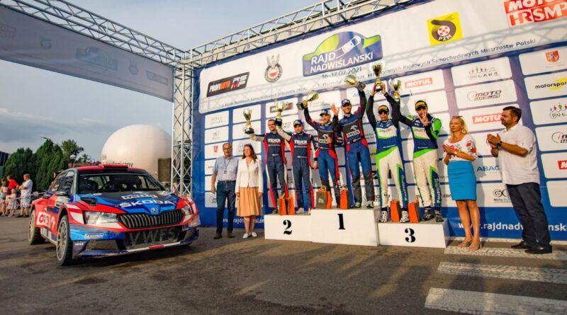 Rajd Nadwiślański: Miko Marczyk z kolejną wygraną w sezonie