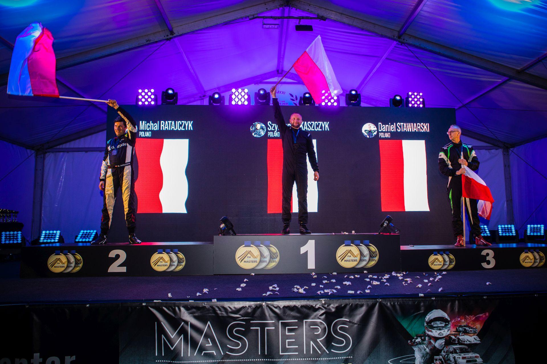 Polacy zdominowali wyścig mistrzów w Portugalii